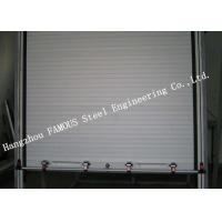 Best Light Aluminum Doors Overhead Metal Roll Up Doors Low Noise Heat Insulation Type wholesale