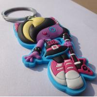 China Durable Cartoon Soft Key Chains Figure Shape For Children Gift wholesale
