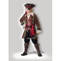 Captain Skullduggery 7043 Funny Halloween Costumes , Brown Childrens Fancy Dress