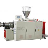 Best SJSZ80 Plastic Conical Twin Screw Extruder PVC Pipe Extrusion Line wholesale