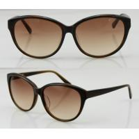Best Women Brown Acetate Frame Sunglasses With Polarized Lens wholesale