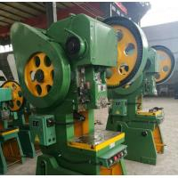 China Exceed 63T Metal Stamping Machine , Sheet Metal Hole Punch Machine Hydraulic Overload Protector on sale