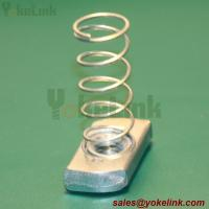 "Best Galvanized Metal 1/2"" Long Spring Channel Nut For strut channel wholesale"