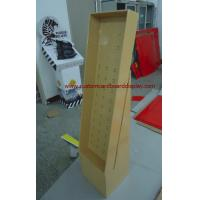 China Cardboard Point of Sale Display with 4 Shelves Holding 30kg, Sturdy Cardboard Floor Display Stand wholesale