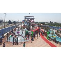 Best Outdoor Funny Water Park Equipments 10000sqm For Adults / Children wholesale