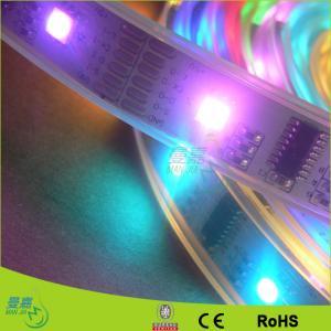 China Bright Waterproof Ip67 / Ip68 LED Ribbon Tape Light Of Cold White 5500k - 6500k on sale