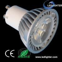 China White 3W high power GU10 Led Spot Light Bulbs with 3years Warranty,CE and Rohs on sale