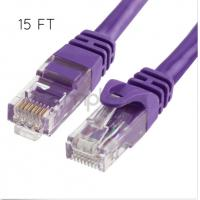 Buy cheap Multi Color Cat6 UTP 24AWG BC Patch Cord LAN Cable With ROHS Jacket from wholesalers
