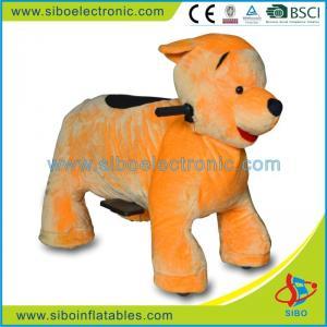 Best Plush Riding Animals Kids Card Battery Led Plush Motorized Animals wholesale