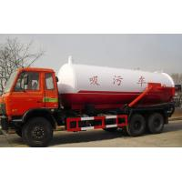 China Sewage suction Special Purpose Truck 6x4 16CBM 18CBM 20CBM sewage pump truck on sale