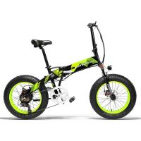 China 20 Inch Electric Fat Bike , Electric Powered Bicycles Adjustable Handlebar on sale