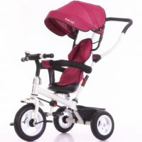 Best China factory purple color baby tricycle new models with push bar Tricycle bike for kids wholesale
