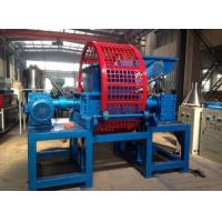 China 22Rpm Rubber Shredding Machine / Rubber Recycling Machinery Eco Friendly on sale