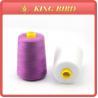 China 100% Spun Polyester Sewing Machine Thread With Mercerized Technics wholesale