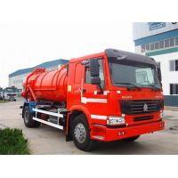 China 10000L Capacity 4X2 Sewage Suction Truck ZF8098 336HP Sewage Vacuum Truck on sale