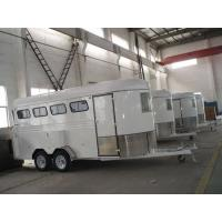 Cheap 4 horse trailer  angle load for sale