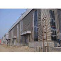 China Customized Steel Frame Warehouse , Steel Structure Plant Galvanized Treatment on sale