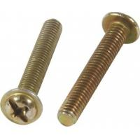 M4 High Precision Furniture Screw Bolts Full Thread Customized Size With Washer