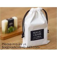 Best Cotton Muslin Bags Cotton Drawstring Pouch Gift Bags with Drawstring for Party Supplies Daily Use,Multi-purpose Cotton C wholesale