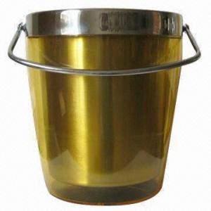 Best Double Wall Ice Bucket with Handle wholesale