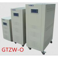 China Single Phase Automatic Voltage Stabilizer Adjusted Digital Control With Gray Color on sale
