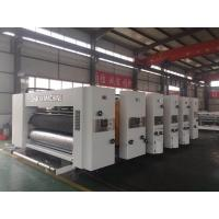 Best Automatic Printing Slotting Die Cutting Machine For Making Cartons 900x2200 Model wholesale