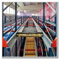 China Heavy Duty High Density Pallet Racking System Steel Q235 Material ISO9001 on sale