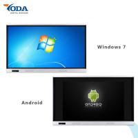 Best 65'' Lcd Display Touch Screen Dual System Wall Mount Interactive Whiteboard 350cd/m2 wholesale