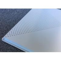 Best Perforated Aluminum Ceiling Panels 600x600mm Lay-on Metal False Ceiling wholesale