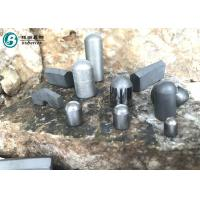 Best Yk25 Type Tungsten Carbide Bullet , Cemented Carbide Buttons For Mining wholesale