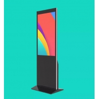 China Floor Standing 420W 43 49 55 Lcd Touch Screen Kiosk on sale