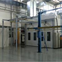 China 80kg Loading Powder Coating Paint Booth Customization Dimension Multi Functional on sale
