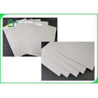 Thickness 1.28 2.24 3.2MM Grey Board / Recycled Paper Size Customized For Box