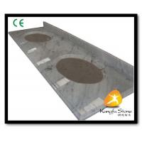 China Xiamen Kungfu Stone Ltd supply Carrara Marble Hotel Countertops In High quality on sale