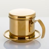 China High Efficiency Stainless Steel Coffee Maker Durable  Coffee Filter Pot on sale