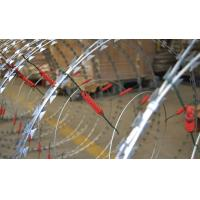 Best Custom Security Single Coiled Razor Wire High Protection Neat Appearance wholesale