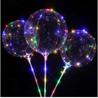 China 450CM Flashing Led Balloon Lights Light Up Birthday Balloons Customized Color on sale