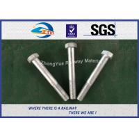 Best DIN931 / DIN933 ASTM BS GB Standard Hot Dip Zinc Custom Railway HEX Bolt wholesale