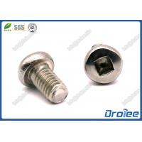 Best 304/410/316 Stainless Square Drive Pan Head Thrilobular Thread Forming Screws wholesale