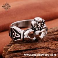 China Unique Heart Around Hands High Quality Stainless Steel Birthday Gifts For Men on sale