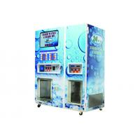 Best Carbon Steel Water Proof Water Vending Machine With 2 Independent Vending Zone wholesale
