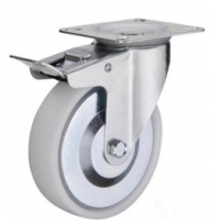 China 4 inch nylon castors trolly wheel on sale