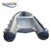 Best Light Weight Rigid Hulled Inflatable Boat Anti Abrasion Easy Trailer Transport wholesale