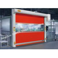 Best Automatic High Speed PVC Fabric Aluminium Alloy Electric Roller Shutter Doors wholesale