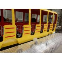 Best 360 Degrees Rotation Kids Theme Park Rides , 24 Seats Crazy Bus Ride For All Ages wholesale