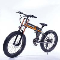 China 21 Speed Off Road Ebike , Snow Electric Mountain Bicycles Fat Tire 26 Inch on sale