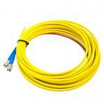 Best ST Fiber Optic Pigtail / 2.0 Duplex PC Polishing Optical Fiber Pigtail Cables wholesale