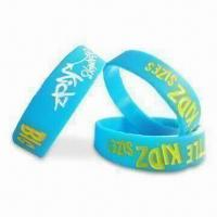 Best Balance Bracelet, Made of 100% Silicone and Harmless Materials, Available in Various Colors/Logos wholesale