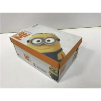 Best BGM09 Cardboard Shoe Boxes Golden / Silver Hot - Stamping Customized Logo wholesale