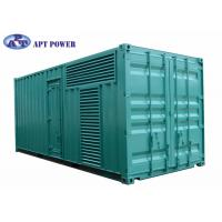 Best Quiet 1100kVA Cummins Diesel Generator Fuel Consumption Low Noise wholesale